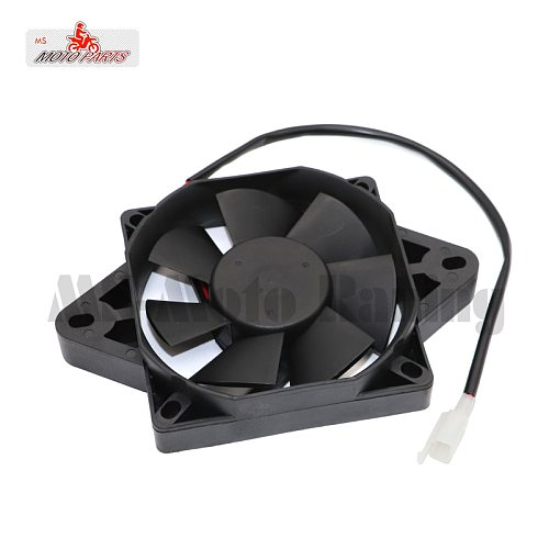 Radiator Thermo Electric Square Shape Water Tank Cooling Fan For 150-250CC Quad Dirt Bike ATV Buggy Motorcycle Go-kart