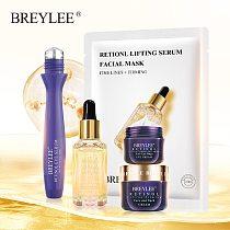 BREYLEE Retinol Series Anti Aging Firming Face Mask Facial Eye Cream Serum Remove Fine Lines Wrinkles Tighten Skin Care Essence