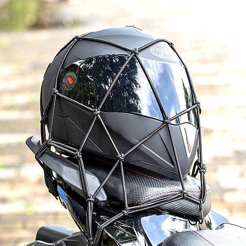 Hot Sale High quality Universal Bungee Cargo Net for Motorcycle Bike ATV Offroad Board Go Cart accessories Helmet /Fuel tank Net