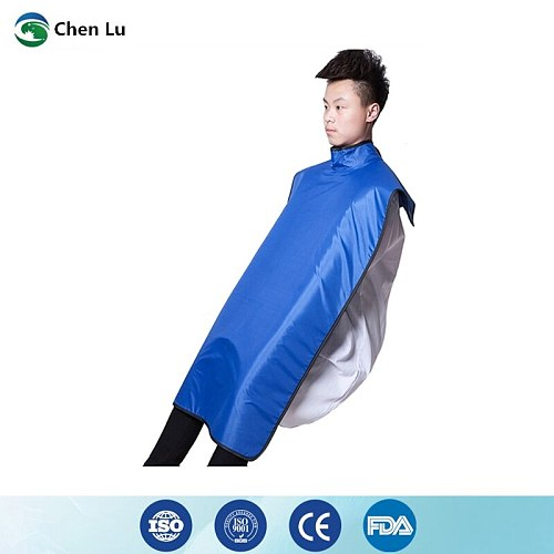 Direct selling ionizing radiation protection 0.35mmpb high collar lead clothing dental clinic use x-ray protective dental apron