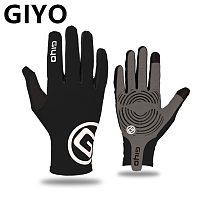 GIYO Touch Screen Long Full Fingers Gel Sports bike Cycling Gloves MTB Road Bike Riding Racing Gloves Women Men Bicycle Gloves