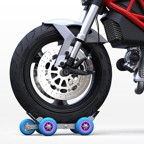 New Motorcycle Shift Car Maneuvering an Electric Motorcycle Booster Car Flat Tire Puncture Device Trolley Trailer Unit
