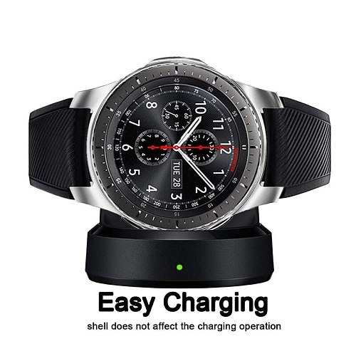 Watch Case for samsung Gear S3 Frontier Galaxy watch 46mm/42mm Cover TPU plated All-Around protective shell watch Accessories
