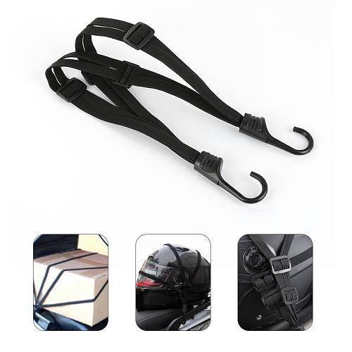Motorcycle Helmet Straps Motorcycle Accessories Hooks Luggage Retractable Elastic Rope Fixed Strap Motos Helmet Luggage Net
