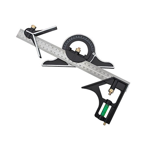 3 In1  Ruler Multi Combination Square Angle Finder Protractor 300mm Measuring Set Tools Universal Ruler Right Angle Home Tools