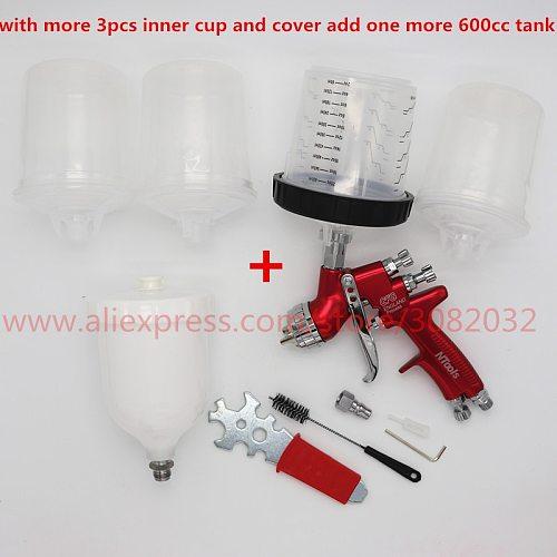 Adapter Pot Joints Spray Gun With PPS Type H/O Quick Cup, No cleaning Cup Spray Gun Adapter/Paint Spray Gun /Sprayer Gun