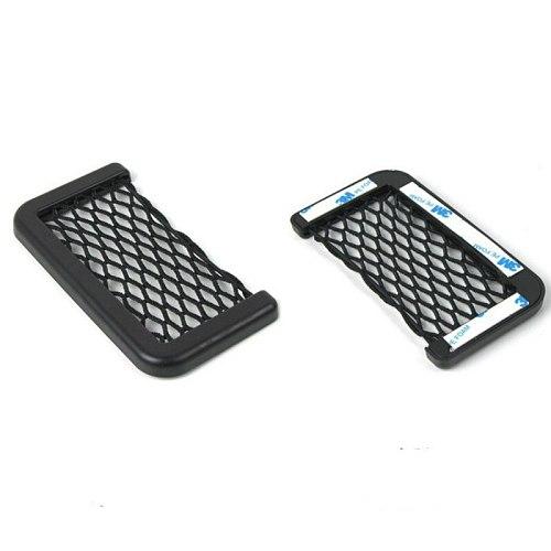 For Renault Latitude Samsung SM5 L38 Renault Fluence SM3 Car Seat Side Back Storage Net Bag Phone Holder Pocket Trunk Net