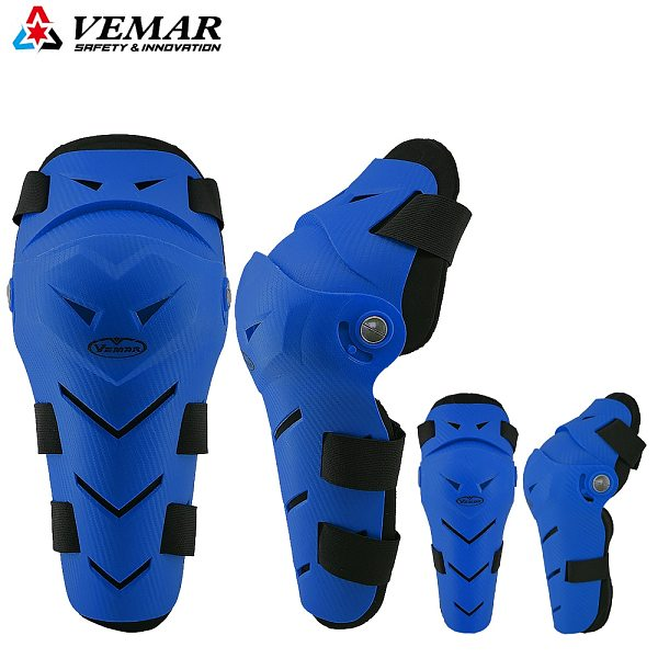 4PCS Motorcycle Knee Pads Protector Motocross Cycling Elbow and Knee Pads Protection Drop-Resistant Leg knee Protective Gear