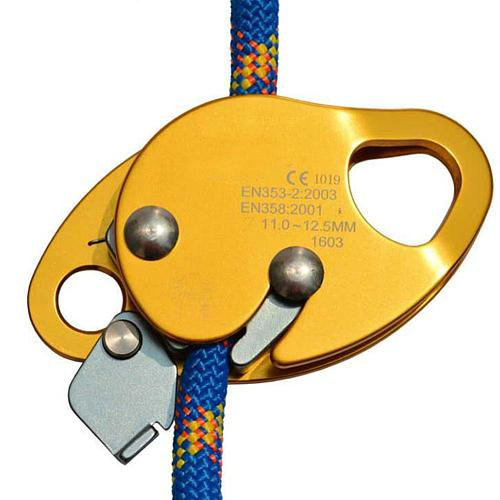 Climbing Drop Protector Automatic Locking Device Prevent Falling High-altitude Operations And Ascend Mountaineering Accessories