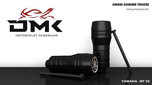 DMK YAMAHA MT-25 FAIRING PROTECTION / SLIDER - ALL MODELS
