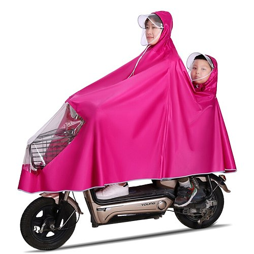 Rain Coat for Women Motorcycle Waterproof Lightweight  Rider Rainsuit Overalls Raincoat Motorcycle Adult Windbreaker New GG50yy