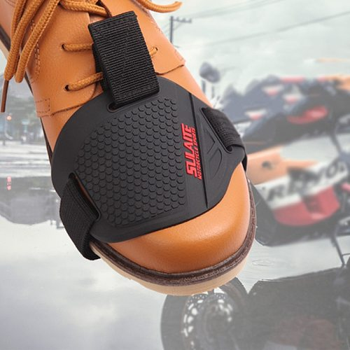 1PCS Black Motorcycle Shoes Protective Motorbike Moto Gear Shifter Men Shoe Boots Protector Shift Sock Boot Cover Shifter Guards