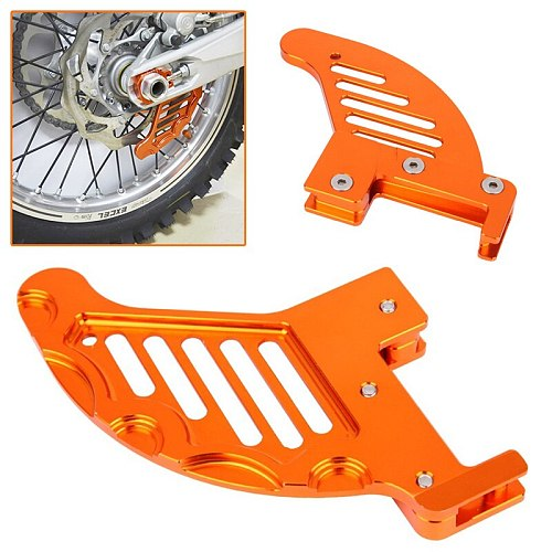 Suitable for KTM125/250/350/450 rear wheel chain protection plate, rear brake protection cover, rear chain decoration cover