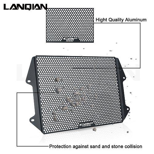 Motorcycle Aluminum Radiator Guard Grille Cover Protector For Honda CBF1000 CBF 1000 FA 2011 2012 2013 Accessories