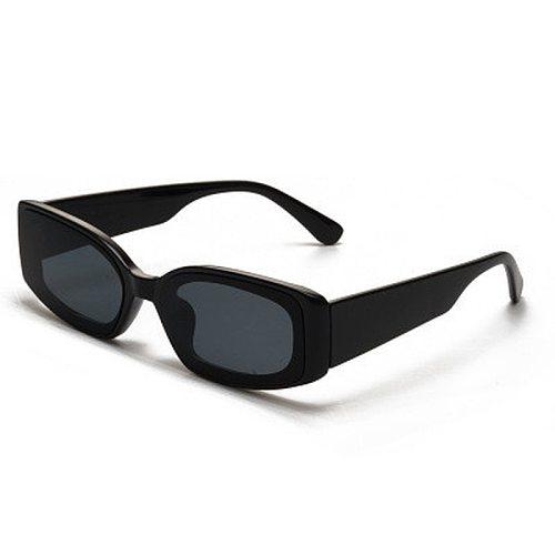 Vintage Small Sunglasses for Men Women Retro Brand Designer Rectangle Sun Glasses Gradient Shades Classic Sunglass UV400