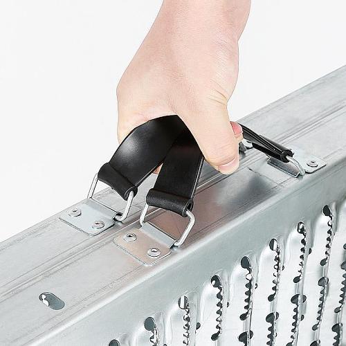 400kg 1 Pair Trailer Couplings Perforated Non-slip Loading And Unloading Ramp Steel Trailer Couplings & Accessories HWC
