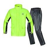 Two colors of motorcycle raincoat split suit, bicycle raincoat, motorcycle rider high quality