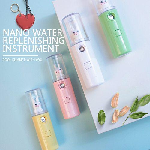 Portable Nebulizer Steamer USB Hydrating Mist Face Sprayer Facial Moisturizing Skin Care Mini 30ml Spray Beauty Skin Care