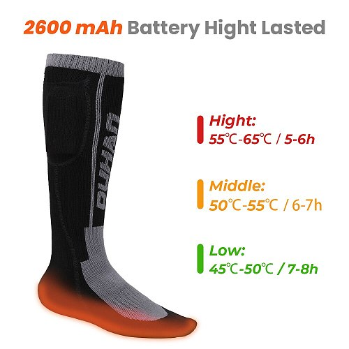 Heated Socks Remote Control Electric Heating Socks Rechargeable Battery Winter Thermal Socks Men Women Outdoor For Motorcycle