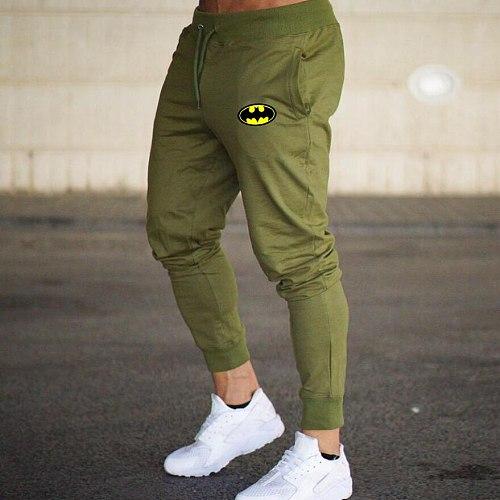 Cotton Jogging Pants Men Quick-drying Running Pants GYM Men Fitness Trousers Bodybuilding Bottoms Sportswear Man Workout