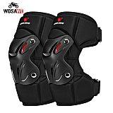 WOSAWE Upgrade Motorcycle Kneepads Thicken Motocross Knee Protection Moto Racing Protective Gear Motorbike MTB Elbow Knee Pads