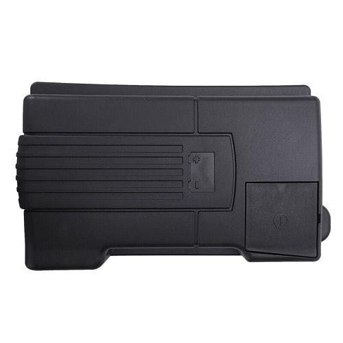 Engine Battery Dustproof Negative Electrode Waterproof Protective Cover For Skoda Kodiaq Octavia 5E (A7) For Vw Tiguan L 2018 16