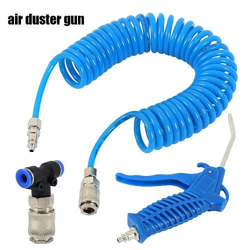 Air Duster Spray Gun Spray Gun Hose Truck Dust Blower Clean Nozzle Blow Spray Tool Kit For Car Paint 5m
