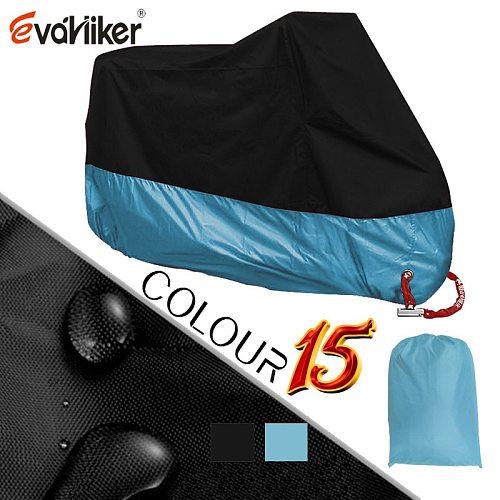 Motorcycle Covers 190D Silver Motors Bike Dust Waterproof Outdoor Indoor Rain UV Protector Cover Coat For Bicycle Scooter