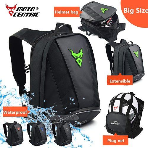 Motorcycle Helmet Backpack Waterproof Cycling bags Large Capacity Motorcycle Bag Leisure Travel Shoulder Backpack mochila motor