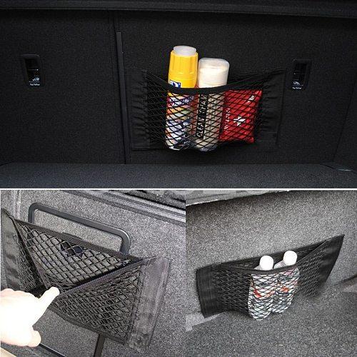 Overe Car Trunk luggage Net bag Paste net bag For Ford Focus 2 3 Fiesta Mondeo MK4 Fusion Ranger Toyota Corolla chr RAV4 yaris