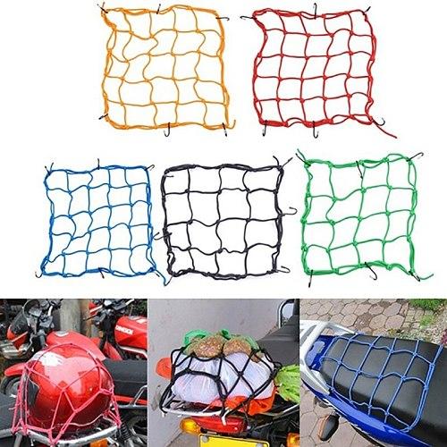 Motorcycle Bicycle Cargo Net Helmet Rope Luggage Storage Bag Twine Motorycle Net Bags Mesh 9449