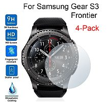 4PCS Clear Ultrathin Film For Samsung Gear S3 Frontier Transparent HD Screen Protector Front Protective Film Smart Accessories