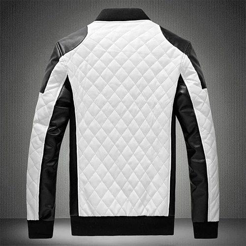 Mens Leather Jacket Casual High Quality Classic Motorcycle Thick Coat Winter Chaqueta Hombre Motorcycle Jacket