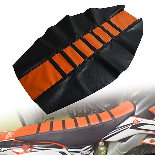 Motocycle rubber seat cover Dirt Bike For   12 13 14 15 16 17 SX SXF EXC XCW XCFW EXCF 125 150 200 250 300 350 450 500 525 530