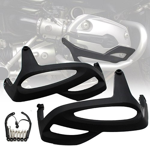 Motorcycle ABS Engine Cylinder Protector Guard Side Cover for BMW R1200RT R1200GS R1200R 2004 - 2010