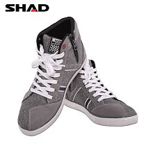 Fashion Casual SHAD Motorbike Riding Shoes Breathable Biker Boots Motorcycle Boots Street Racing Men Women Bota