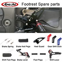 Arashi Spare Parts Adjustable Rearsets Replacement Shift Linkage Lever Gear Selector Motorcycle Footrest Spare Parts Foot Pegs