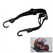 Universal Motorcycle Adjustable Helmet Mesh Net Protective Gears Luggage Hooks Motorcycle Accessories  Motorcycle Luggage Net