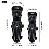 WOSAWE Adult Motorcycle knee pads Moto Motocross Racing Protective Gear Protector Guards With Breathable Hole