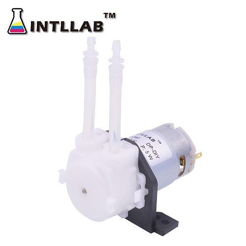 DIY Peristaltic Pump 12V DC in Laboratory Liquid Dosing Pump for Aquarium Lab Analytical