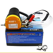 60W Auto Engine Oil Pump 12V/24V Electric Oil/Diesel Fluid Sump Extractor Fuel Transfer Suction Pump Boat Engine