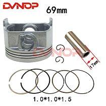 Motorcycle Piston Ring Zongshen XINYUAN ATV250 ZS250 CB250 CBB250 CQR M7 R8RTF  Piston Ring Bore 69mm Piston pin 17mm