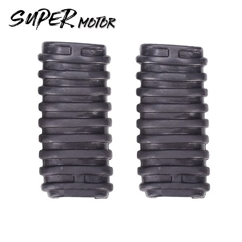 Motorcycle Footrest Rubber Cover Shell Rubber Foot Pedal set For HONDA steed400 STEED 600 400 Magna