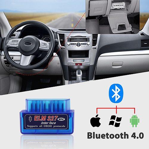 OBDMonster Mini Bluetooth ELM327 V2.1 Automotive OBD2 Diagnostic Scanner Check Engine Code Reader  for iPhone/ Android