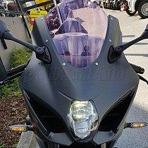 Motorcycle Double Bubble Windshield Windscreen Screen For 2017 2018 2019 Suzuki GSX-R1000 GSXR1000 GSX-R GSXR 1000 K17 Smoke