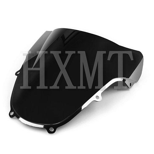 For Suzuki GSXR 1000 600 750 R K1 K2 600 750 1000 2000 2001 2002 2003 00 01 02 Black Motorcycle Windshield WindScreen screen