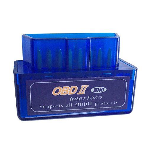 ELM327 V2.1 OBDII Scanner Mini Bluetooth OBD2 Car Check Engine Light Code Reader Diagnostic Scanner Tool Interface Adapter