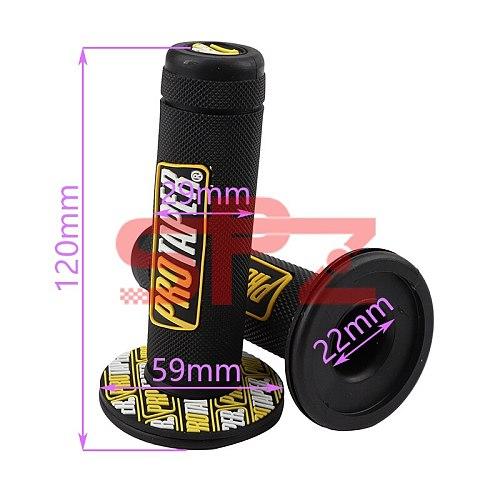 Motorcycle Handlebar Grip Gel Brake Handle Rubber 7/8  For Protaper Pro Taper YAMAHA YZ125 YZ250 YZ250F YZ450F WR250F WR450F