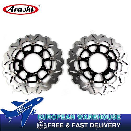 Arashi CNC Floating Front Brake Rotors Discs For SUZUKI VZR 1800T BOULEVARD M109R INTRUDER 2006 - 2012 VZR1800N / VZR 1800