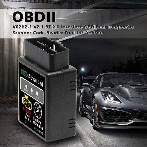 OBD2 HH OBD ELM327 V1.5 Bluetooth OBD2 CAN BUS Check Engine Car Auto Diagnostic Scanner Tool Interface Adapter For Android PC